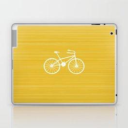 Yellow Bike by Friztin Laptop & iPad Skin