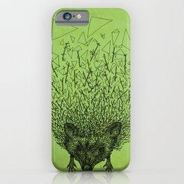 Thorny hedgehog iPhone Case