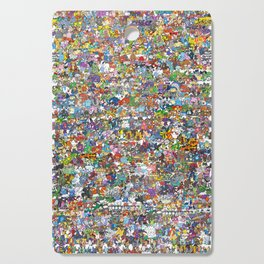 pokeman Cutting Board