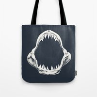 doom Tote Bags featuring Doom Regatta by Ross Zietz