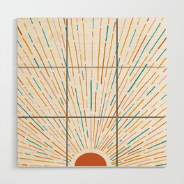 Sunshine All Around Wood Wall Art