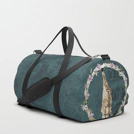 Lar Gibbon Lily Wreath Duffle Bag