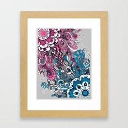 Beautiful struggle Framed Art Print