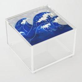 Waves Acrylic Box