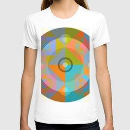 Canotila - Colorful Round Shape T-shirt