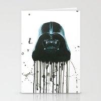 darth vader Stationery Cards featuring Darth Vader by McCoy