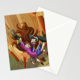 GRAPPLING HOOK! Stationery Cards