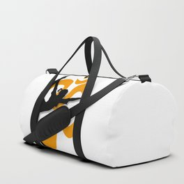 Yoga Pose Poster Duffle Bag