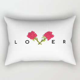LOVER Rectangular Pillow