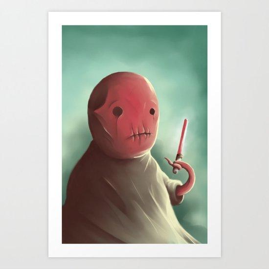 Cuter than master Yoda Art Print