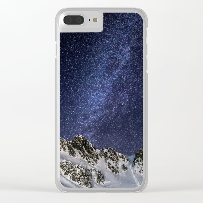 Milky Way II Clear iPhone Case