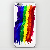 equality iPhone & iPod Skins featuring Equality by Lyndi May