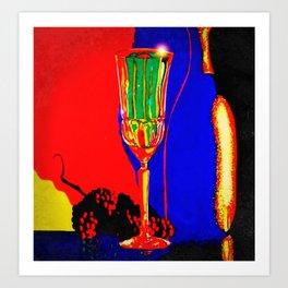 """""""Infrared Evenings"""" Art Print"""