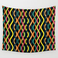 dna Wall Tapestries featuring DNA by Shkvarok
