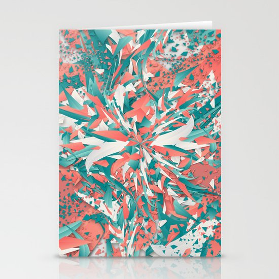 Pastel Explosion Stationery Cards