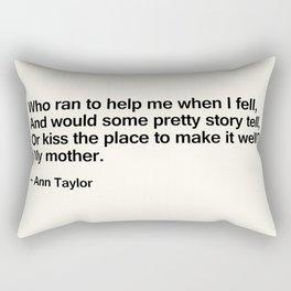 Mothers Day III Rectangular Pillow