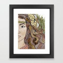 Miriam Framed Art Print