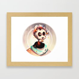 Winter's Death Framed Art Print