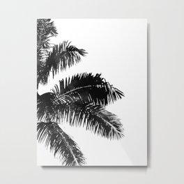 Minimal Palm Print Metal Print