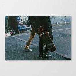 Skaters in Waterloo, London Canvas Print