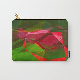 Pink Roses in Anzures 3 Abstract Polygons 2 Carry-All Pouch