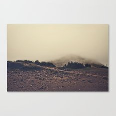 Hike On Canvas Print