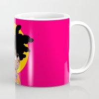 goku Mugs featuring Melanin Goku by Liomal