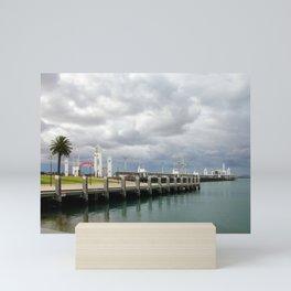 Cunningham Pier Mini Art Print