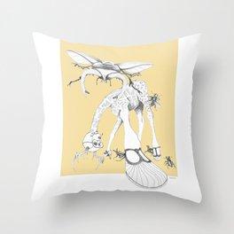 Weird & Wonderful: What bugs you? Throw Pillow