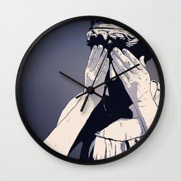 Keep Dreaming Far Nearer Wall Clock
