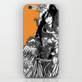 harpie iPhone Skin