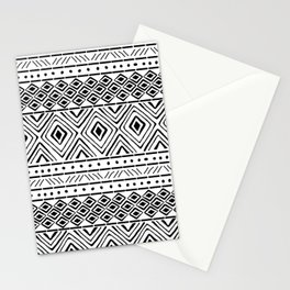 African Mud Cloth Stationery Cards