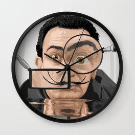 I AM DRUGS 20XX Wall Clock