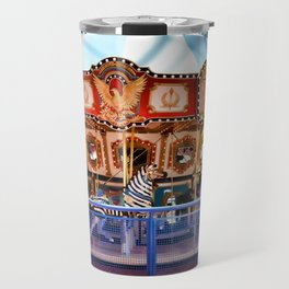 Carousel inside the Mall Travel Mug