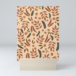 June Pattern Mini Art Print