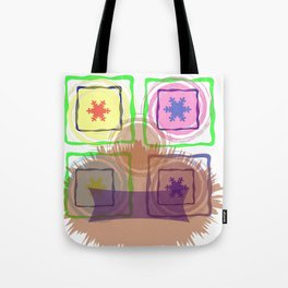 Faces of face Tote Bag