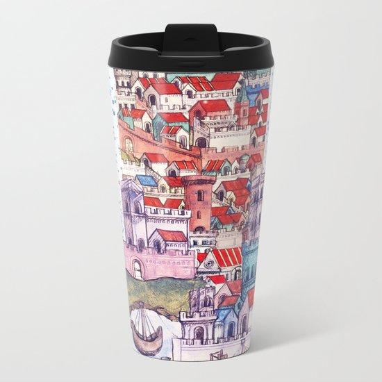 Travelling everywhen Metal Travel Mug