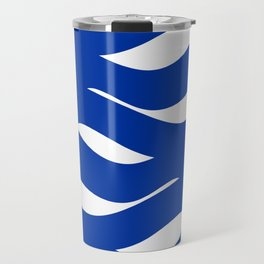 sea waves Travel Mug
