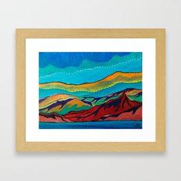 Mini Desert 2 Framed Art Print
