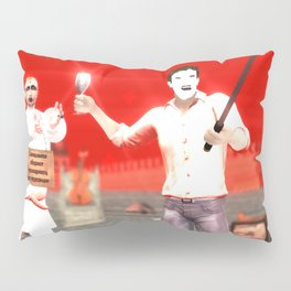 SquaRed: Face Off Pillow Sham