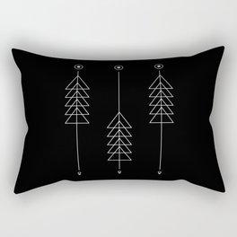 Triangle Totem Rectangular Pillow