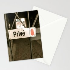 Prive Stationery Cards