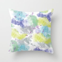 abstract IX Throw Pillow