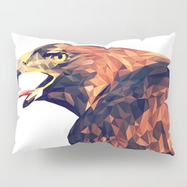 Illustrator triangle low poly Pillow Sham