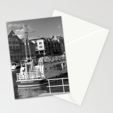 Pleasure boats on the York river Ouse. Stationery Cards