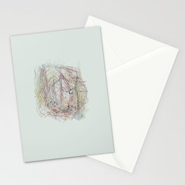 RoseBud Meshwork Stationery Cards