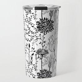 natur beauty in black/white Travel Mug