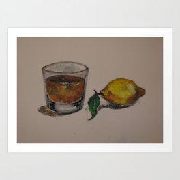 Jack & Lemon Art Print