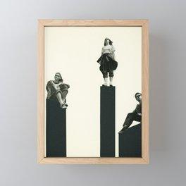 No Man is an Island Framed Mini Art Print