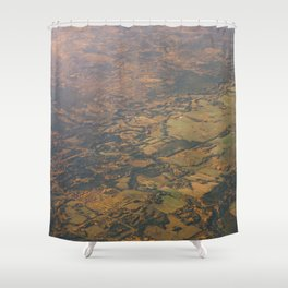 Alberta Countryside Shower Curtain